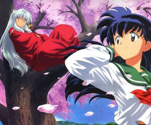 anime, inuyasha, and kagome image