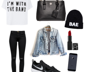 bae, clothes, and nike image