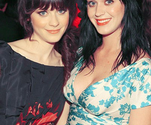 katy perry, zooey deschanel, and twins image