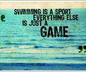 game, sport, and swimming image