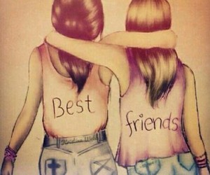 best friends, Forever Young, and solid image