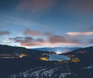 amazing, night, and sky image