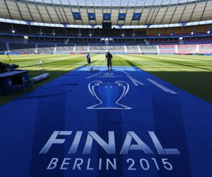 final, champions league, and football image