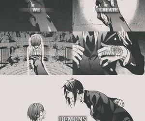kuroshitsuji, demon, and black butler image