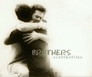 scott, stiles, and brothers image