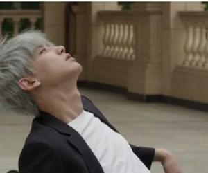 exo, grey hair, and chanyeol image