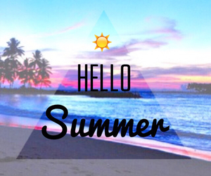 hello and summer image
