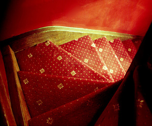 eua, red, and stairs image