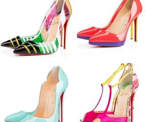 fashion, louboutin, and shoes image