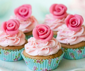 cupcakes, cute, and deliciosos image