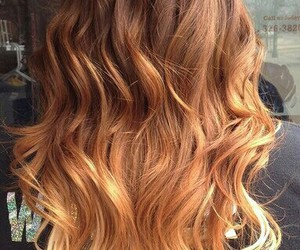 honey, waves, and dyehair image