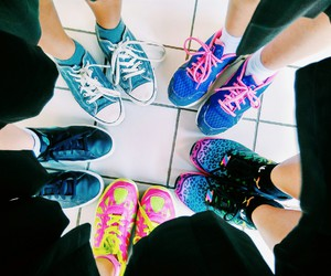 addidas, besties, and bff image