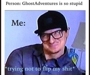 tv show, ghost adventures, and zak bagans image