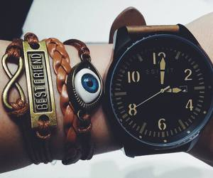 accessoires, clock, and infinity image