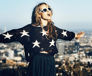 girl, stars, and bridgit mendler image