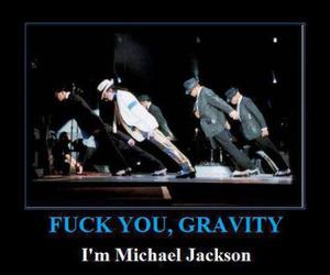 michael jackson and gravity image