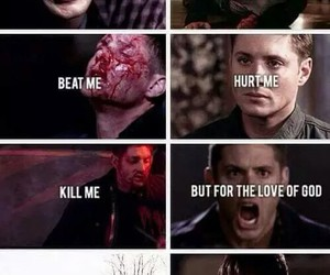 supernatural, dean, and winchester image