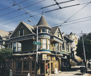 house, san francisco, and travel image