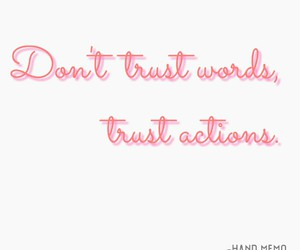 quote, quotes, and trust image