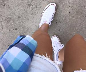 converse, glam, and outfit image