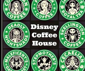 disney, coffee, and starbucks image