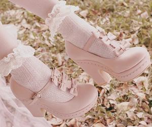 heels, kawaii, and shoes image