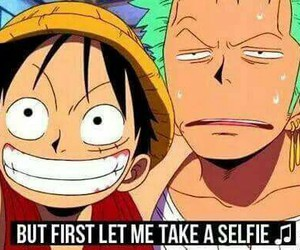 funny, one piece, and luffy image