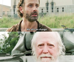 the walking dead, rick grimes, and andrew lincon image