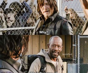norman reedus, zombies, and the walking dead image