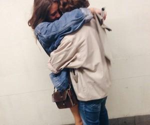 love, couple, and hug image