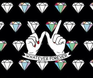 diamond, forever, and whatever image