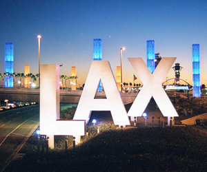LAX and los angeles image