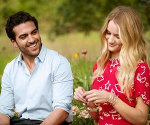 couple, summer, and rosie huntington-whiteley image