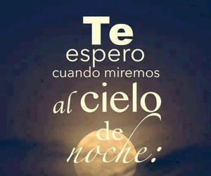 cielo, night, and frases image
