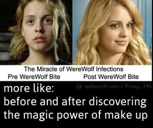 funny, teen wolf, and erica image