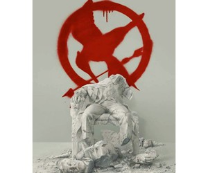 the hunger games, thg, and mockingjay image