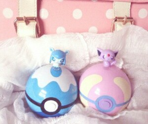 adorable, blue, and pokemon image