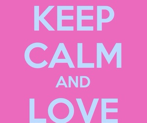 keep calm and love donuts image