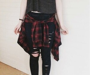clothes, jeans, and cute image
