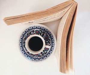 book, عربي, and قهوة image