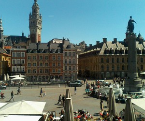 france, Lille, and place image