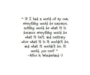 alice, alone, and bw image