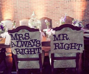 Right and mr.&mrs. image