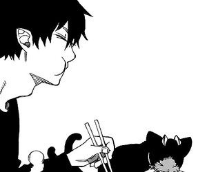 ao no exorcist, blue exorcist, and rin image