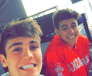 jack gilinsky, sammy wilkinson, and sammy wilk image