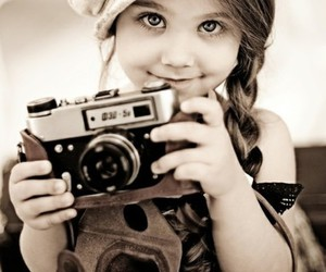 black&white, child, and classic image