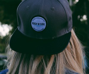 blonde, teens, and hat image