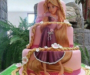 disney, cake, and food image