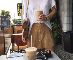 coffee, style, and summer image