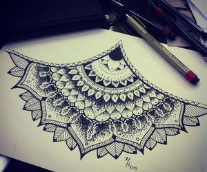 beautiful, draw, and paint image